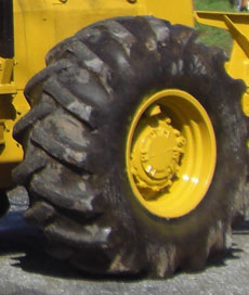 Log Skidder Tire