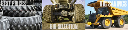 OTR Tires and Big Trucks